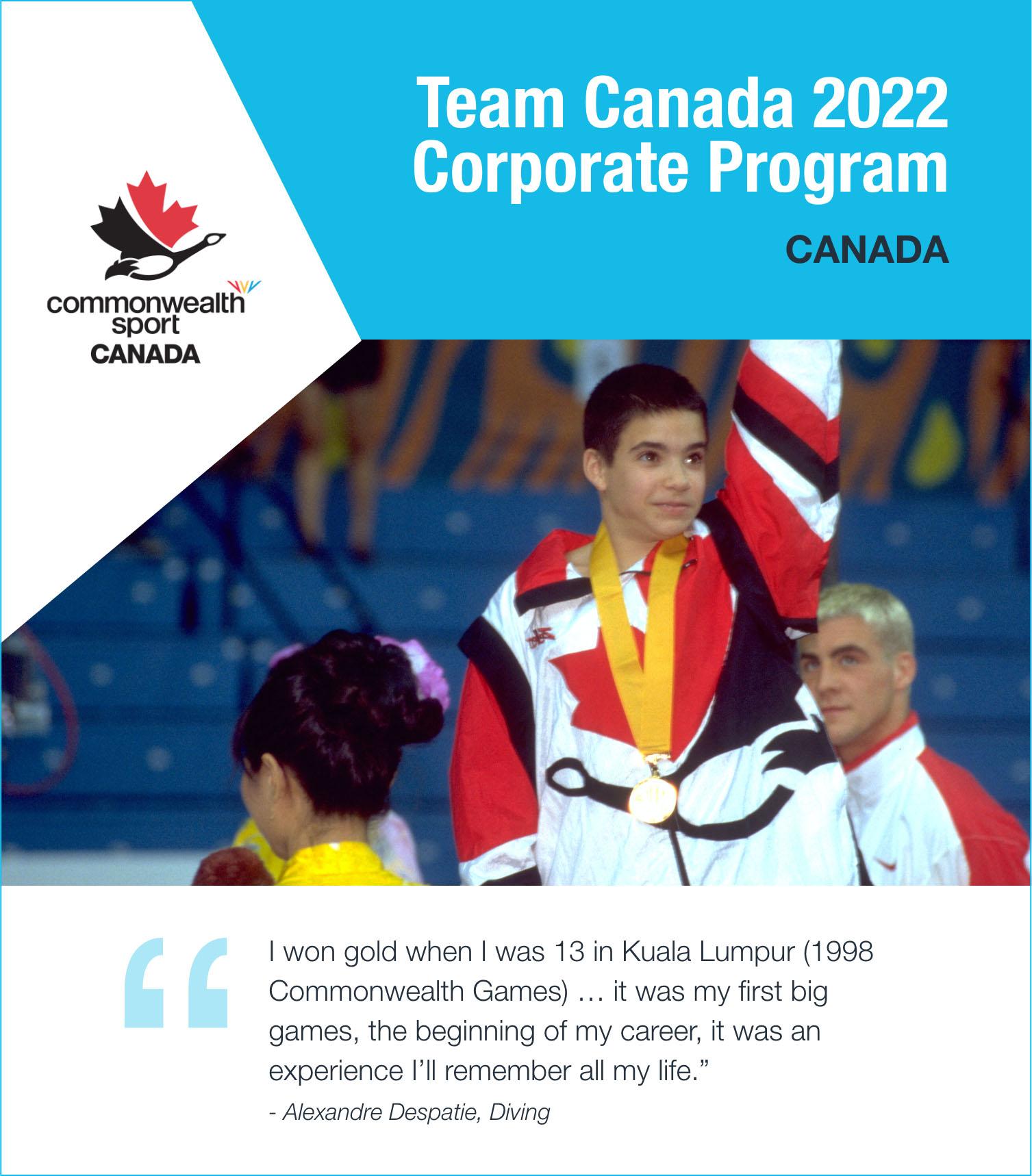 Team Canada 2022 Corporate Program - Canada