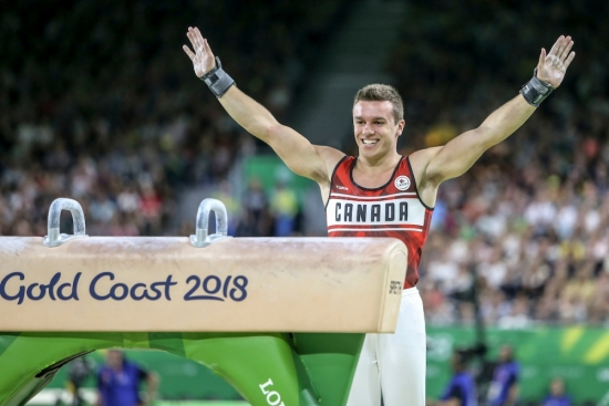 Photo: Glenn Hunt/Gymnastics Canada